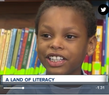 Cleveland school working to increase literacy rates in young children