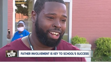 School emphasizes the role fathers play in education